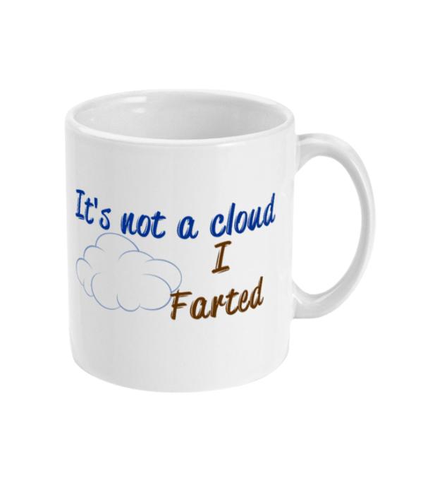 11oz Mug farted farted