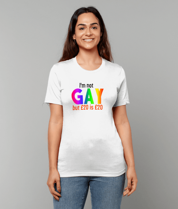 Canvas Unisex Crew Neck T-Shirt gay
