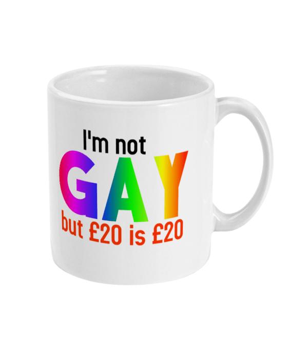 11oz Mug gay mug £20