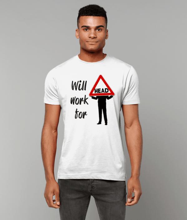 MALE Gildan Heavy Cotton T-Shirt Head male