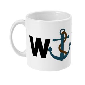 11oz Mug wanchor Wanker MUG