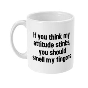11oz Mug attitude