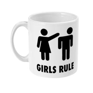 11oz Mug girls rule girls rule