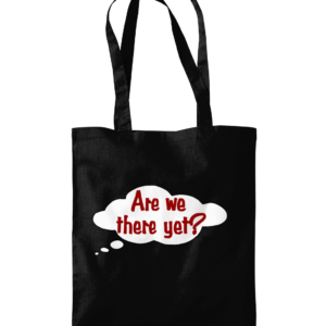 Westford Mill Promo Shoulder Tote Bag are we there yet