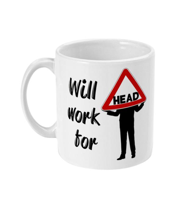 11oz Mug will work for HEAD head