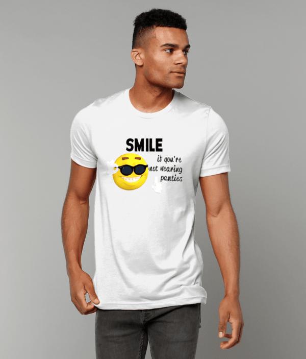 Canvas Unisex Crew Neck T-Shirt panties face