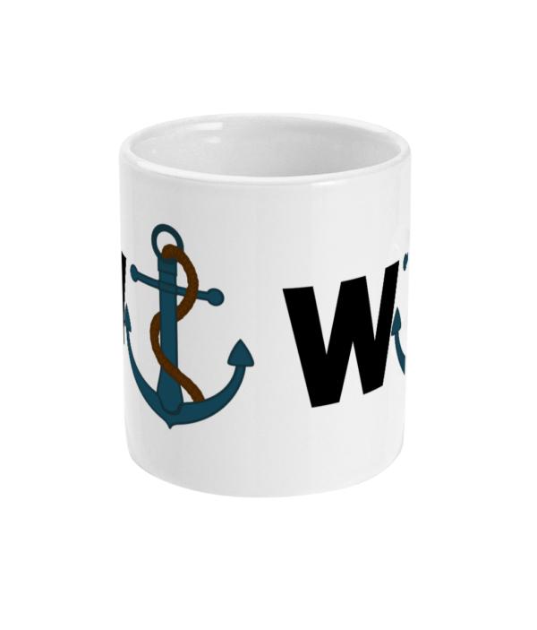 11oz Mug wanchor Wanker MUG mug