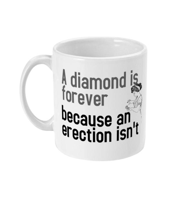 11oz Mug An Erection does not last forever diamond