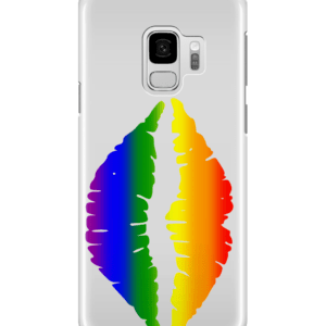Samsung Galaxy S9 Full Wrap Case ,Gay Pride Kiss
