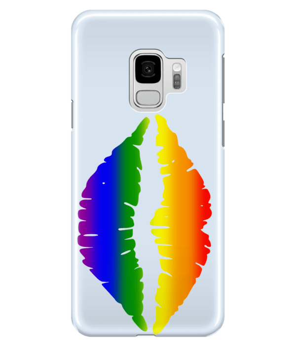 Samsung Galaxy S9 Full Wrap Case ,Gay Pride Kiss gay