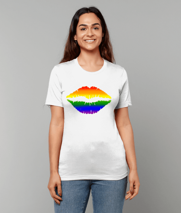 Pride Mouth Unisex Crew Neck T-Shirt gay