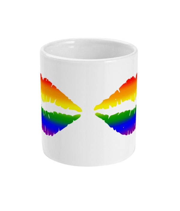 11oz Mug Pride mouth mug gay