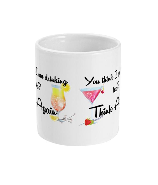 11oz Mug not drinking tea mug