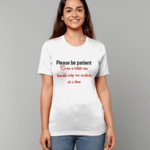 toilet Unisex Crew Neck T-Shirt patient