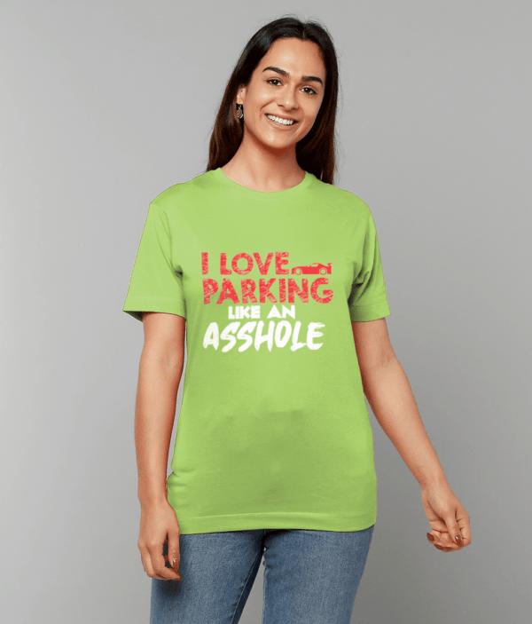 Gildan Heavy Cotton T-Shirt i-love-parking parking