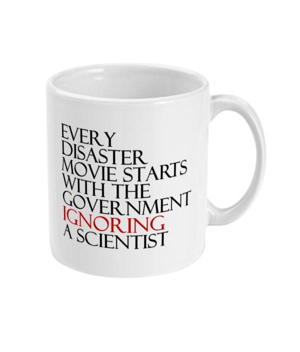 Disaster Movie Mug coronavirus