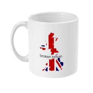 Broken Britain Mug
