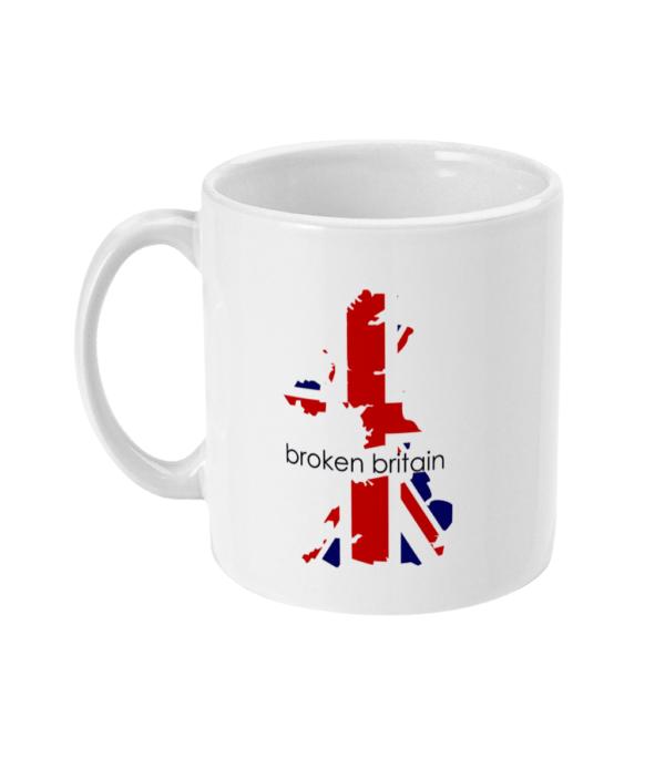 Broken Britain Mug brexit