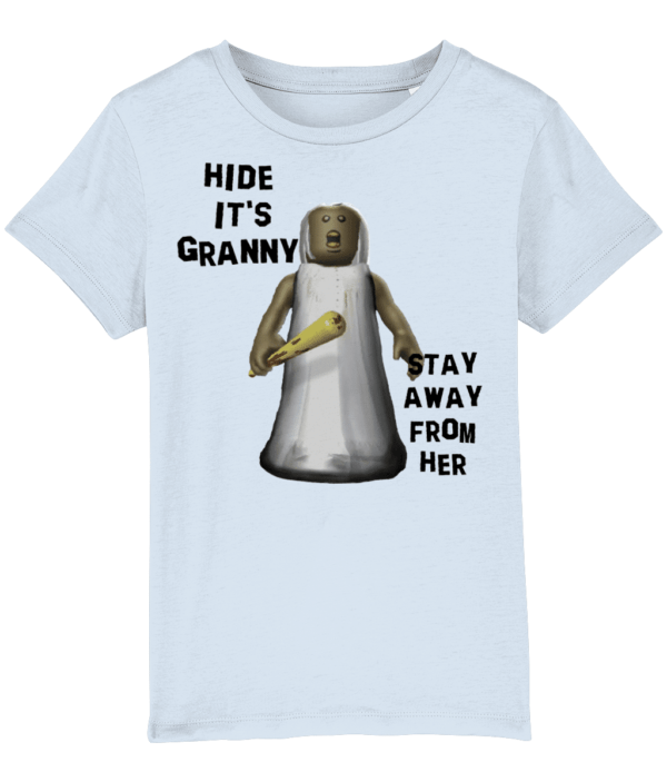 Hide it's Granny – Child's T Shirt