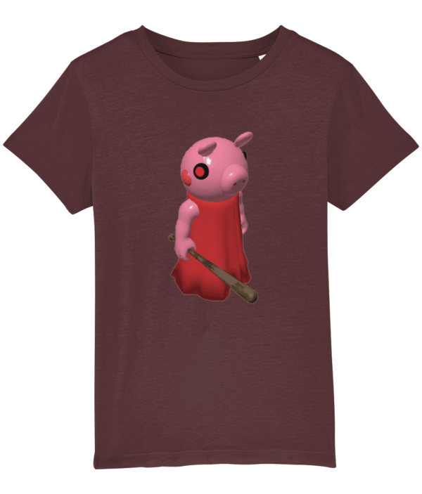 Child's Piggy T shirt based on the Roblox Game piggy