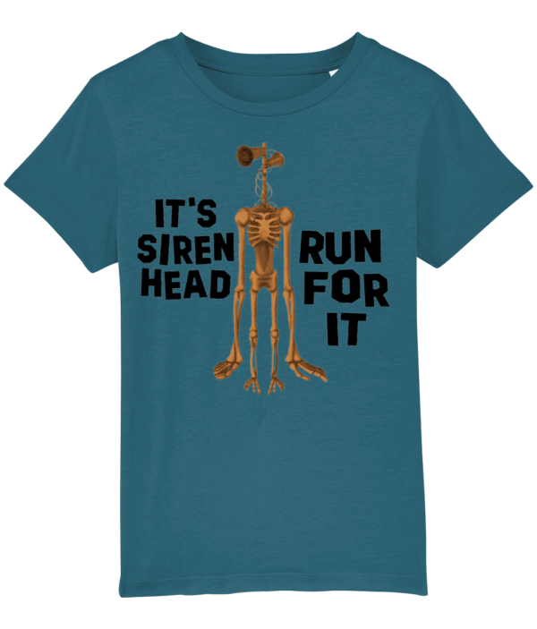 It's Siren Head – Run For It, child's t shirt run for it