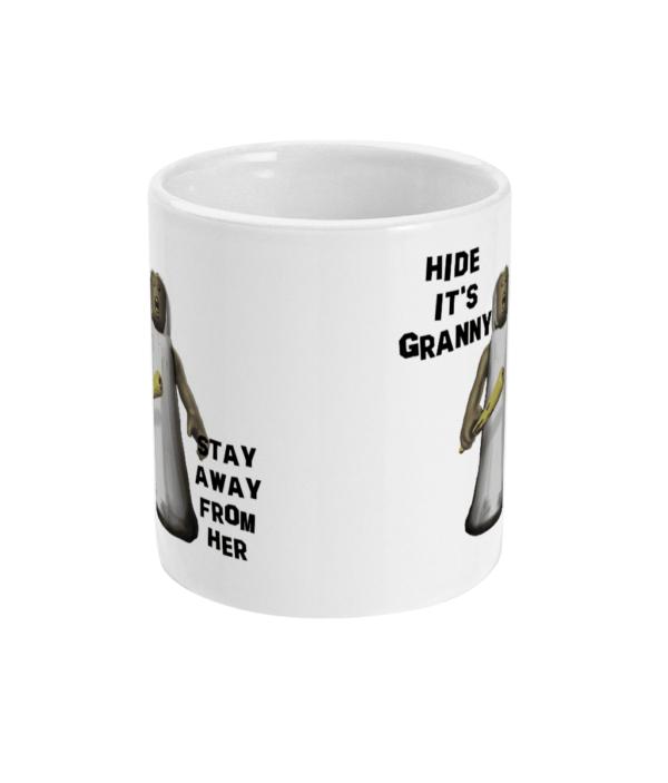 11oz Mug Stay away from Granny granny