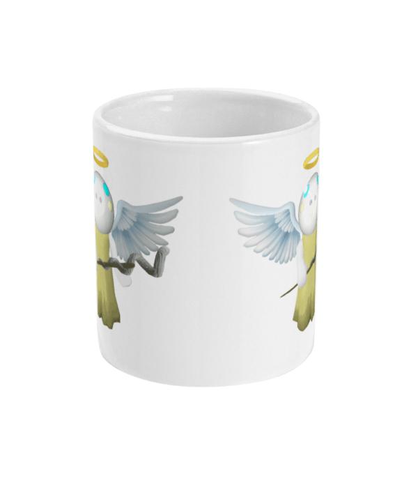 11oz Mug Angel Piggy from Roblox angel