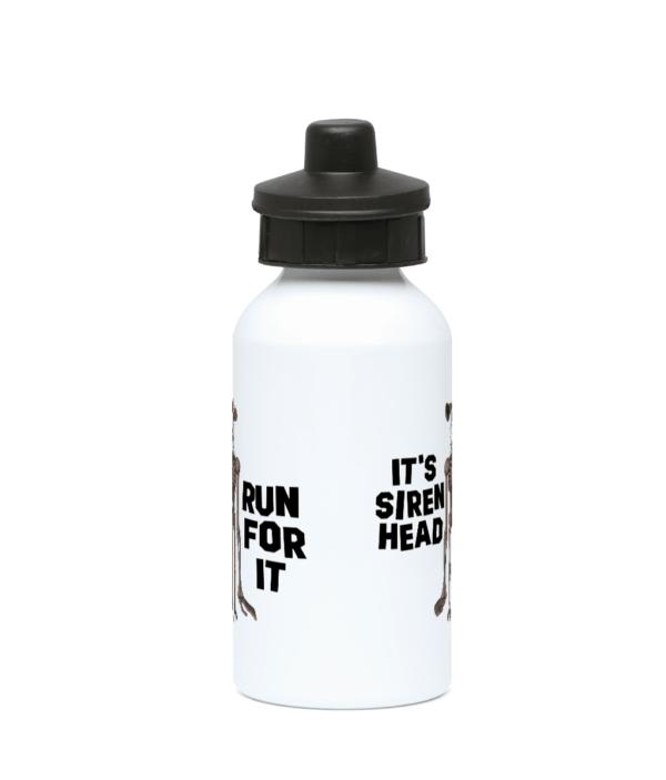 400ml Water Bottle Run for it – its Siren Head siren head