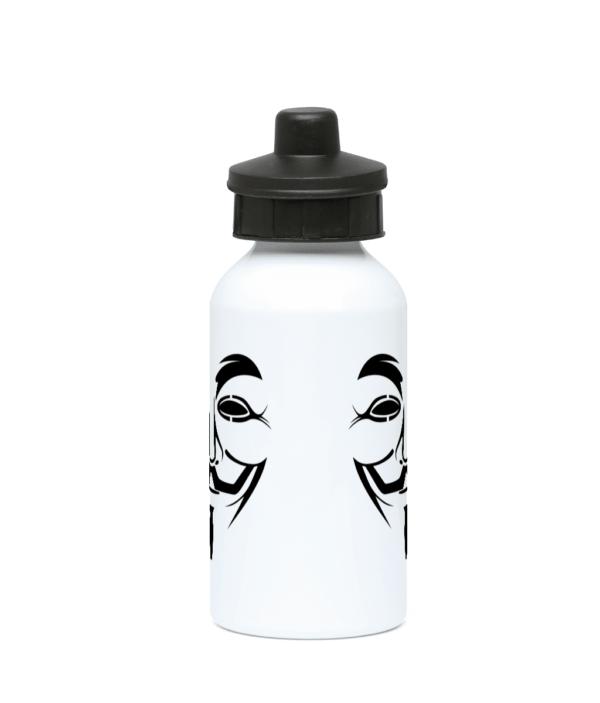 hacker-man-water-bottle 400ml Water Bottle hacker-man-water-bottle