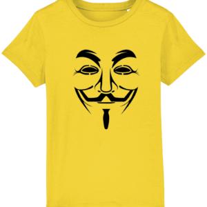 Hacker Face T shirt