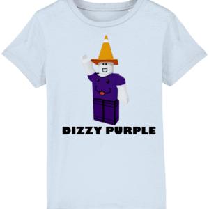 Dizzy Purple Child's T Shirt