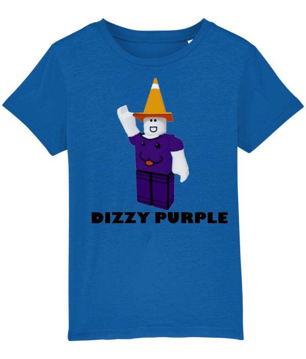 Dizzy Purple Child's T Shirt dizzy purple