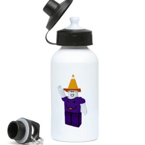 Dizzy Purple Water Bottle