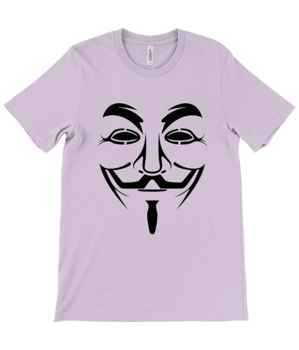 Adults Hacker Face T shirt hack