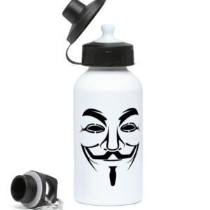 hacker-man-water-bottle 400ml Water Bottle
