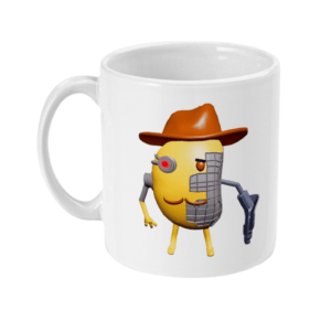 11oz Mug Mr P Piggy