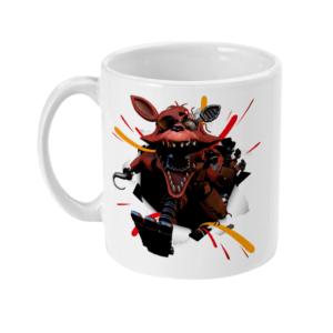 11oz Mug foxy-from-nightmare-at-freddies fasbear