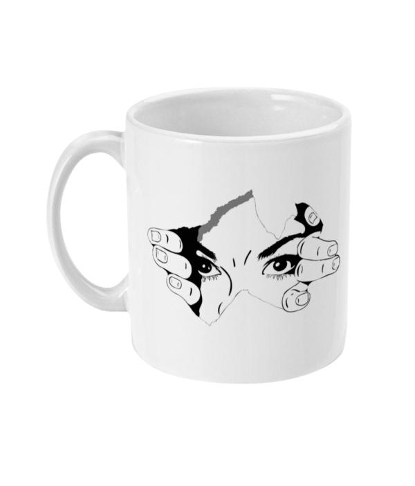 human eye 11oz Mug human eye 11oz Mug
