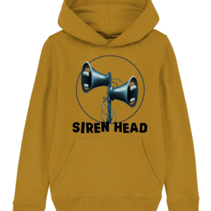 The Siren Head Mouth Child's Hoodie