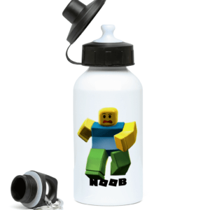 Classic Noob from Roblox 400ml Water Bottle