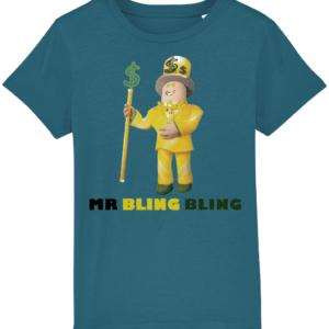 Mr Bling Bling Child's T shirt