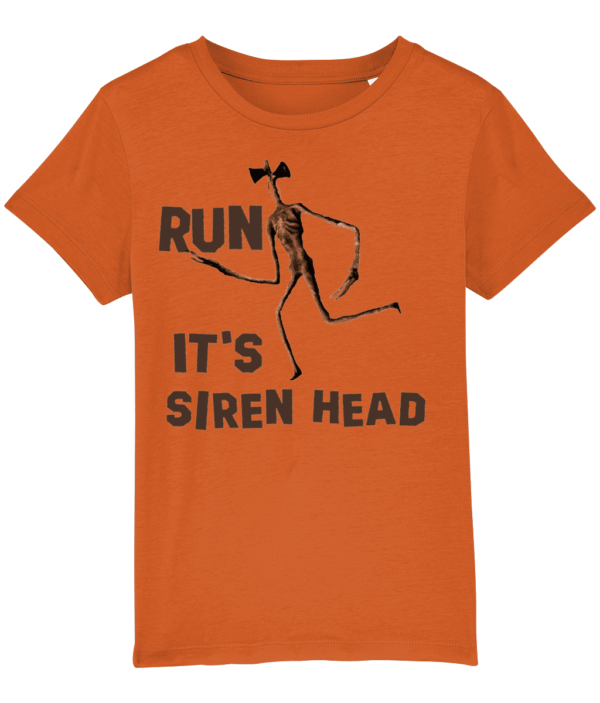 Run- it's Siren Head, Child's T shirt siren head