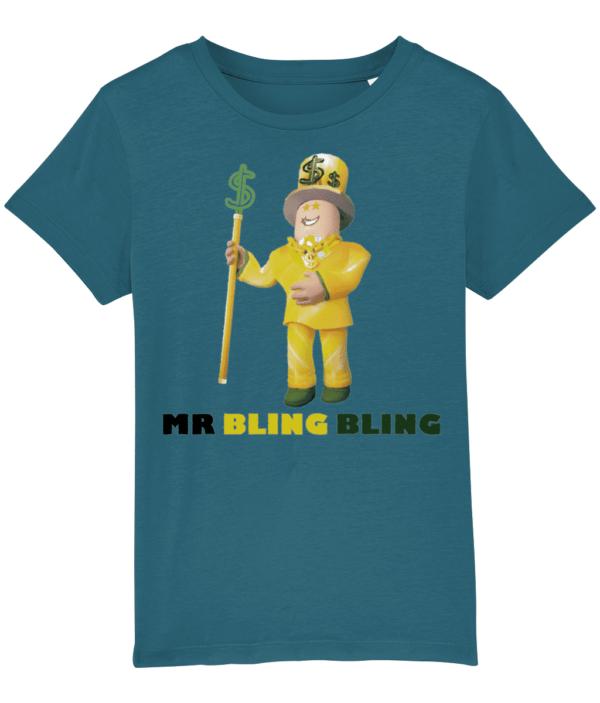 Mr Bling Bling Child's T shirt mr bling bling