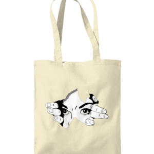 human eye Shoulder Tote Bag