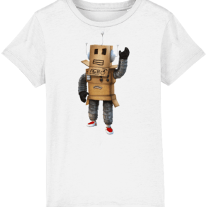 mr robot from Roblox child's t shirt