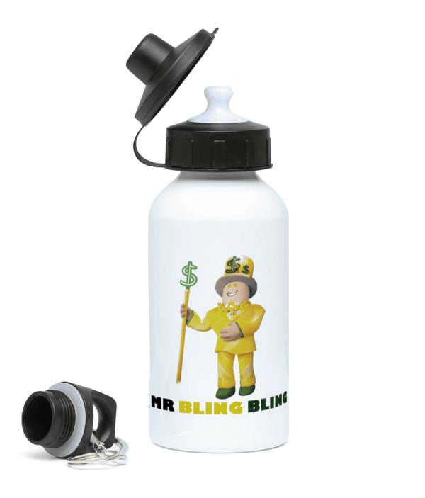 mr-bling-bling 400ml Water Bottle mr bling bling