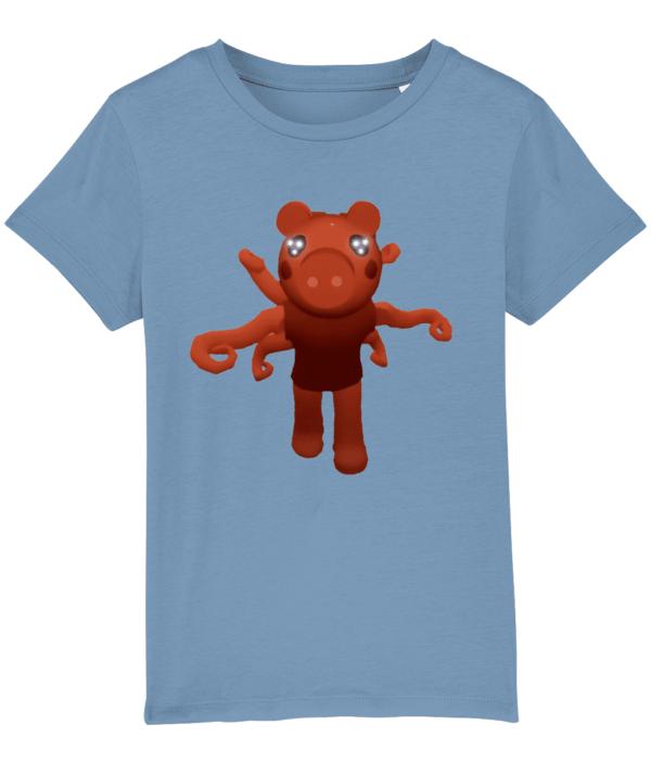 Parasite Piggy from Roblox game Piggy Child's T shirt Parasite Piggy
