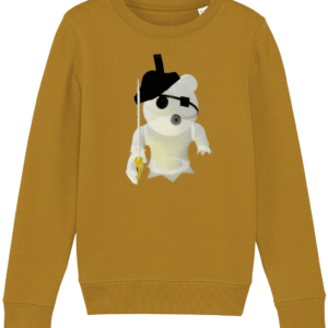 Ghosty from Piggy – a Roblox game – child's sweatshirt