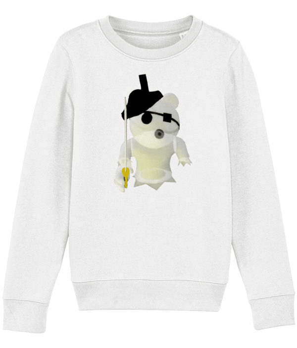 Ghosty from Piggy – a Roblox game – child's sweatshirt Ghosty