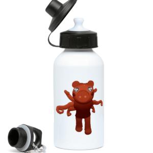 Parasite Piggy from Piggy Game 400ml Water Bottle